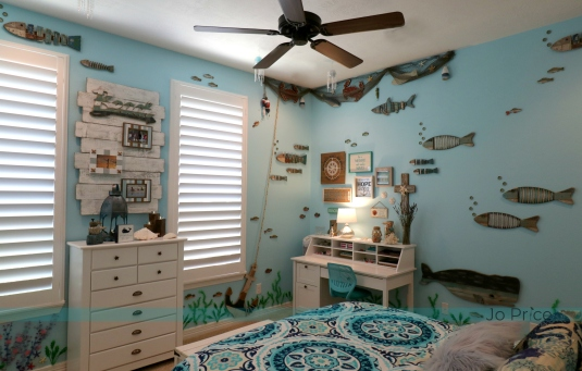 1hannah after - window and desk - ocean and beach decor IG
