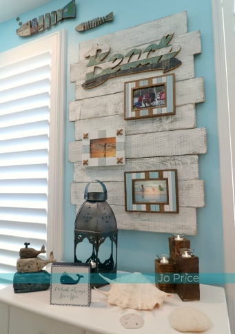 5hannah after - window wall - ocean and beach decor IG